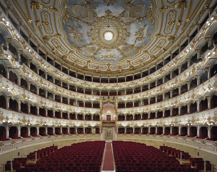 Teatro Municipale, Piacenza, İtalya