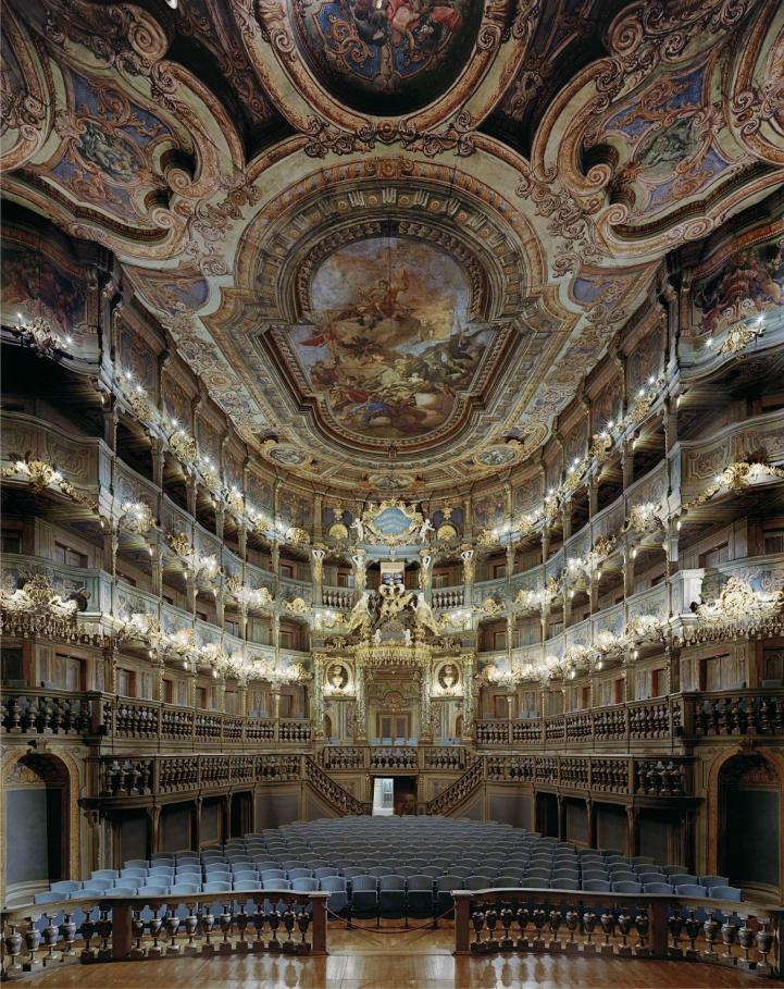Margravial Opera Binası, Bayreuth, Almanya